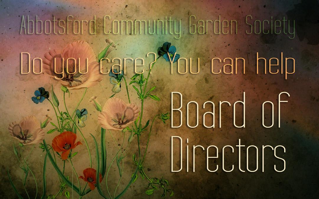 Board Volunteers